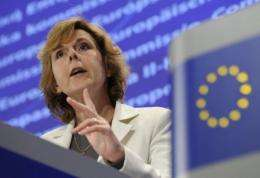 European climate commissioner Connie Hedegaard