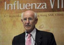 Expert warns of complacency after swine flu fizzle (AP)
