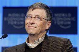 Gates makes $10 billion vaccines pledge (AP)