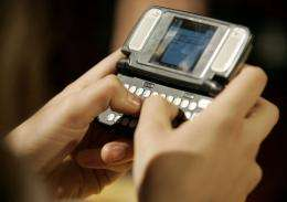 Girls sent or received an average of 4,050 text messages monthl