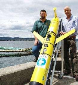Robotic glider to map Moreton Bay impacts