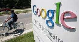 Google expansion helps economy, hurts stock price (AP)