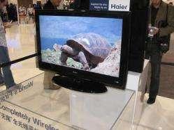 Haier 'completely wireless' TV
