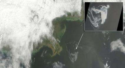 Image: NASA Satellite Imagery Keeping Eye on the Gulf Oil Spill