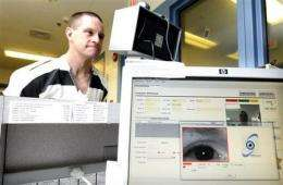 Iris scans may prevent mistaken release of inmates (AP)