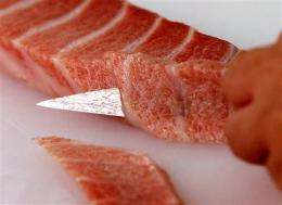 Japan leading charge against bluefin ban (AP)