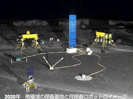 Lunar robot base