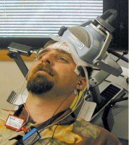 Magnetic stimulation scores modest success as antidepressant