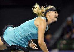 Maria Sharapova is notorious for her grunting, a practice which often triggers complaints in professional tennis