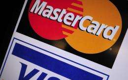 """Mastercard and Visa have been targetted by """"Anonymous"""" following their decision to cut services for WikiLeaks"""