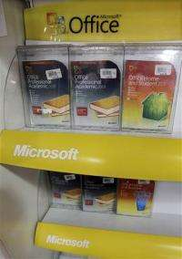 Microsoft 2Q earnings edge down on slow PC sales (AP)