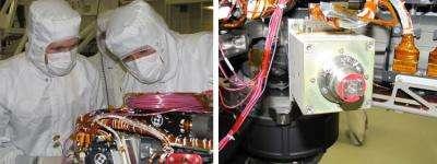 NASA instrument gets close-up on Mars rocks