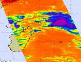 NASA sees sixteenth South Pacific cyclone form