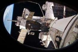 NASA still struggling with stuck valve in space (AP)
