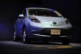 Nissan's Leaf is the first electric vehicle to win European Car of the Year