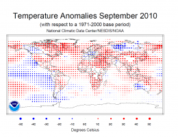 NOAA: Global temperature ties for warmest on record
