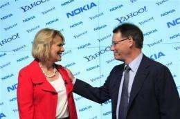 Nokia to run Yahoo's maps in global partnership (AP)