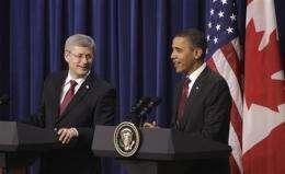 Obama: Government, business help shape US future (AP)