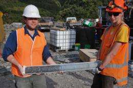 Otago geologists help probe Alpine Fault's secrets
