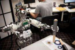 Picture of the iCub robot