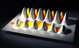Pinning atoms into order