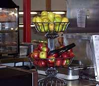 Promote healthy snacks with location, presentation