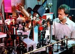 Quantum simulation of a relativistic particle