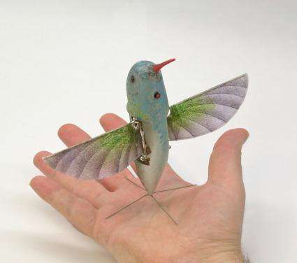 Robot hummingbird passes flight tests (w/ Video)