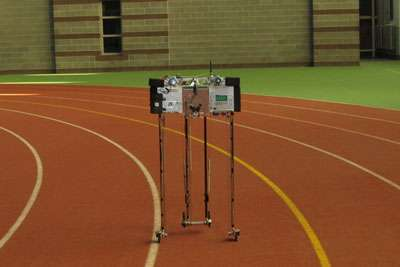 Robot Ranger sets 'walking' record at 14.3 miles