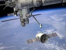 SAGE III - ISS prepped for space station