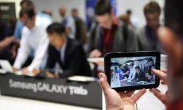 Samsung say its Galaxy Tab has sold one million units