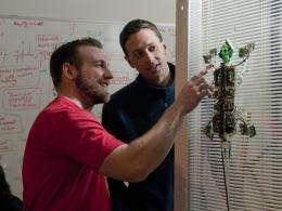 Secrets of the gecko foot help robot climb