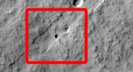 Seventh Graders Find a Cave on Mars