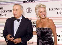 Sidney Harman and Jane Harman