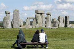 Sister monument to Stonehenge may have been found (AP)