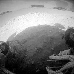 Spirit's Journey to the Center of Mars