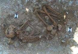 Stonehenge skeleton came from Mediterranean (AP)
