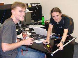 Students find ?lost? office gear with tiny sensors