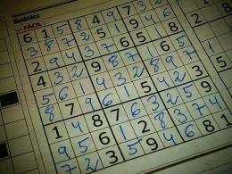 Mathematicians use computer to solve minimum Sudoku solution