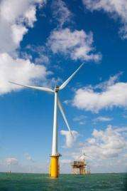 The farm will increase the UK's capacity to generate wind power by more than 30 percent