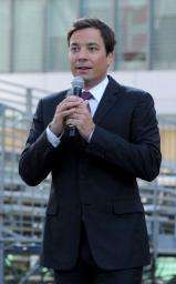 The host of the 2010 Emmy Awards, Jimmy Fallon