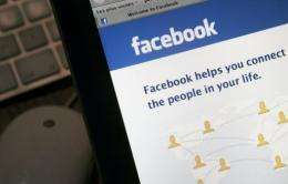 The malicious post at first appears to come from a friend's Facebook account, the security company said