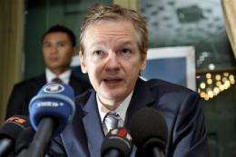 The noose tightens around WikiLeaks' Assange (AP)