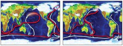 The North Pacific, a global backup generator for past climate change