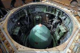 """The Russian """"Dnepr"""" carrier rocket"""