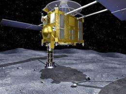 The space probe was launched in 2003