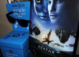 """The success of """"Avatar"""" could persuade other studios that big budget 3D films represented an attractive investment"""