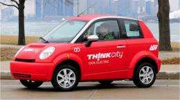 Think City plug-in car