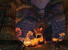 """This handout image shows Activision, Inc.'s """"World of Warcraft"""" video game"""