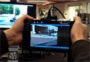 TV outside the box: Using cell phones, new system would let TV programs spill off the screen (w/ Video)